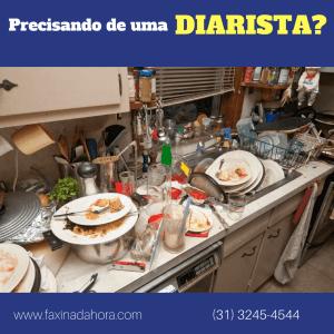 Empresa de serviço doméstico Vila da Serra Nova Lima