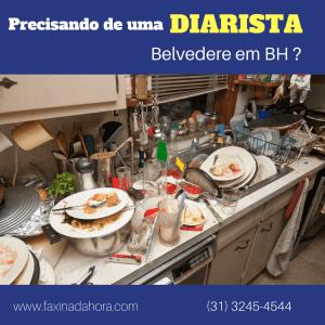 Diaristas e Faxineiras Belvedere Belo Horizonte