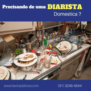 Firma de Serviço Diarista Doméstica e Limpeza Residencial BH