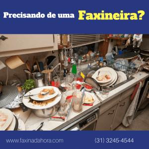 Serviço de Faxineira Limpeza Residencial Belo Horizonte