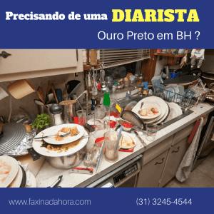 Diaristas e Faxineiras Ouro Preto Belo Horizonte