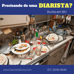 Diaristas e Faxineiras Bairro Buritis Belo Horizonte