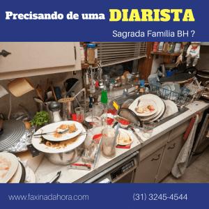 Diaristas e Faxineiras Sagrada Família Belo Horizonte