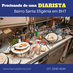 Diaristas e Faxineiras Santa Efigênia Belo Horizonte