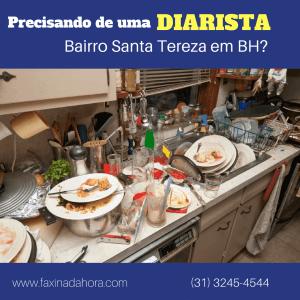 Diaristas e Faxineiras Santa Tereza Belo Horizonte