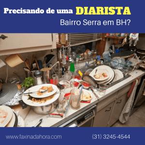 Diaristas e Faxineiras Bairro Serra Belo Horizonte